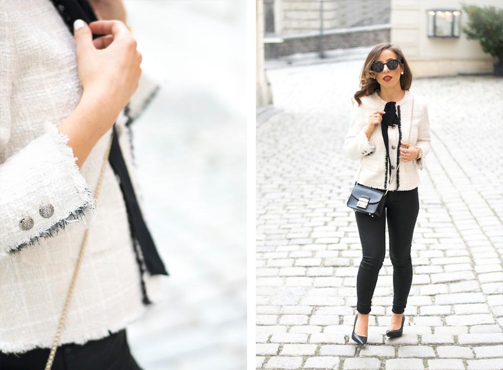 Dolce Petite Zara Jacket With Bow - 2