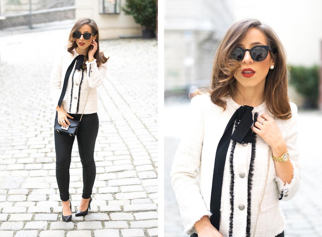 Dolce Petite Zara Jacket With Bow - 3