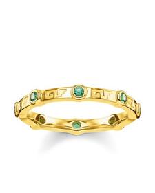 "Thomas Sabo Ring ""Grüner Stein"""